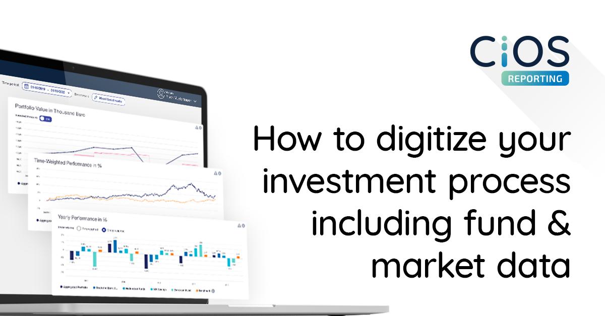 Digitalisierung der Investmentprozesse - mit Echtzeit Portfolio-Analysen & intuitiven Frontends