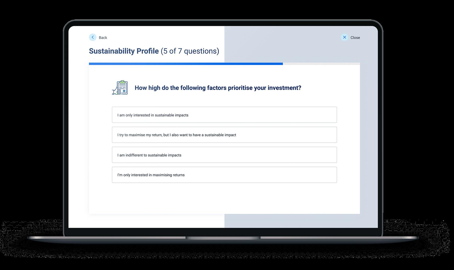 Fincite ESG Sustainability Profile
