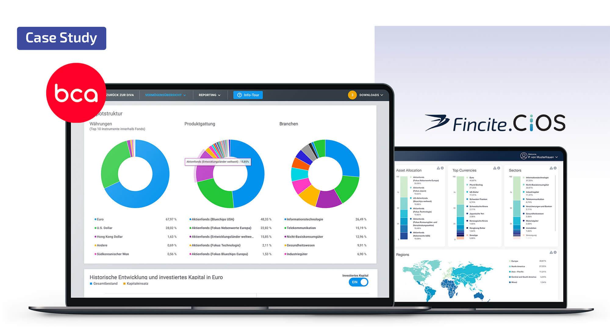 Case Study: modulare Reporting Plattform für Kunden und Berater!